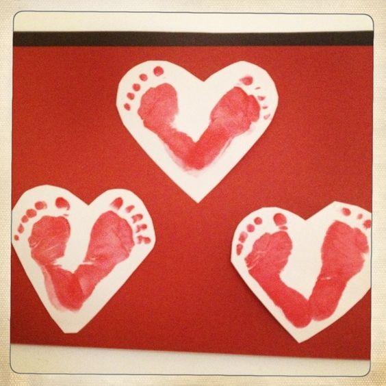 Little Footprint Hearts
