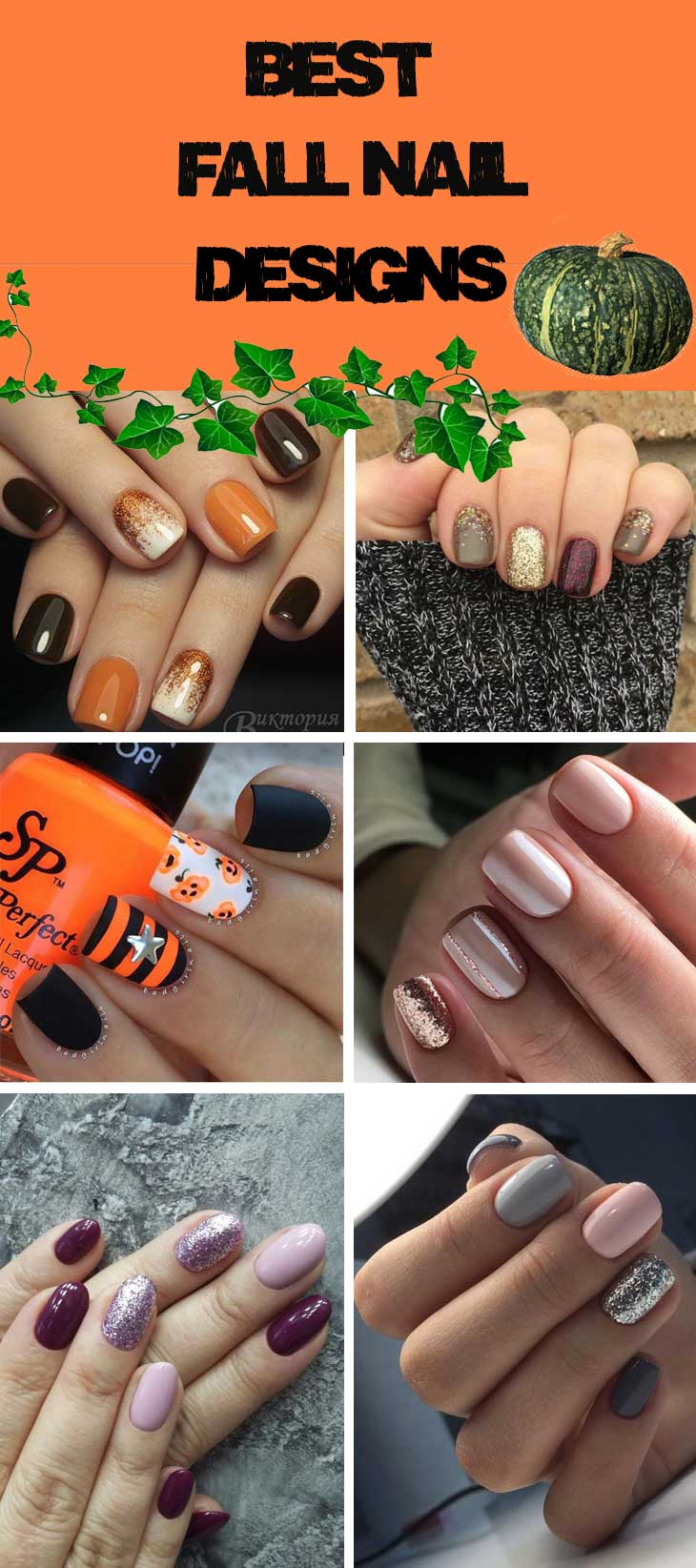 Best Fall Nail Designs Diy Cuteness