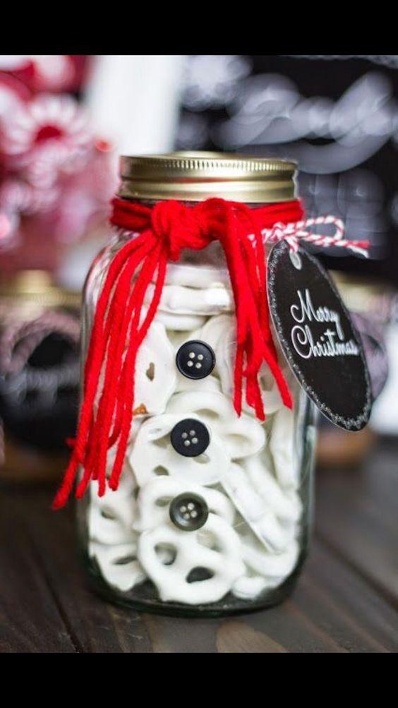 Jar of Pretzels