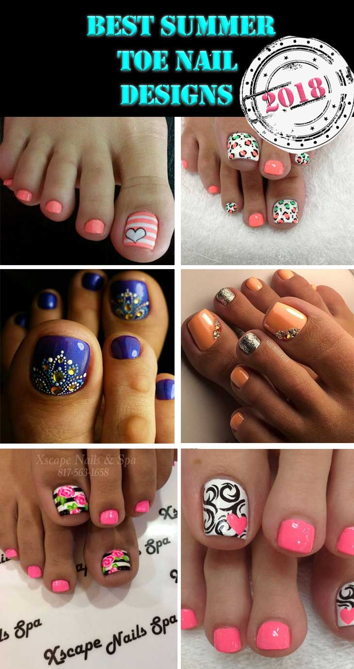 Best Summer Toe Nail Designs Diy Cuteness