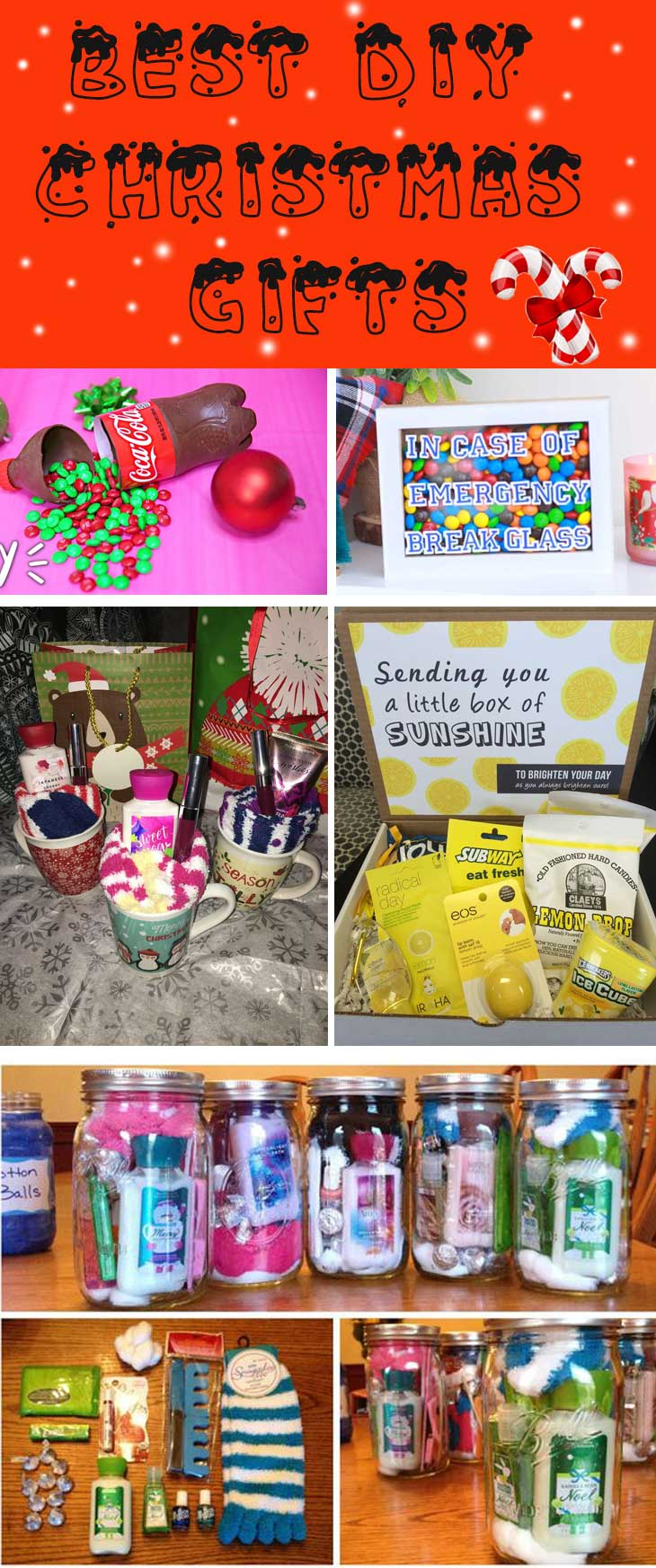 diy christmas gifts to make that will save money whether you want to bake or just get some ideas for a gift basket the ideas here will give you tons