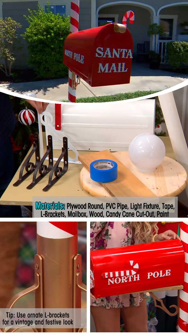 DIY Santa Mailbox