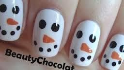 cute winter nail ideas for short nails