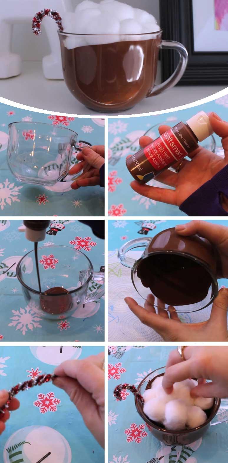 Hot Cocoa Centerpiece