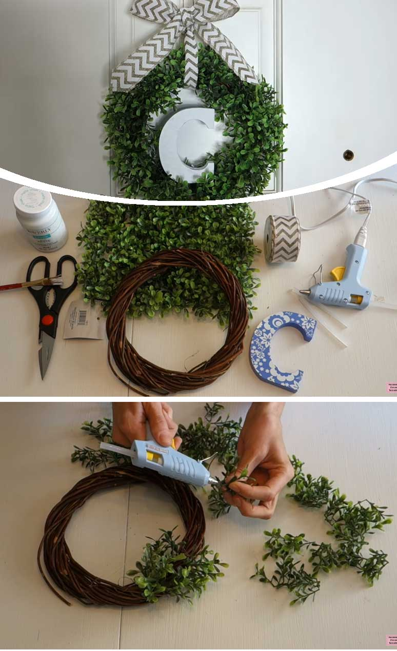 Monogram Wreath
