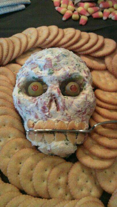 Skeleton Cheese Ball