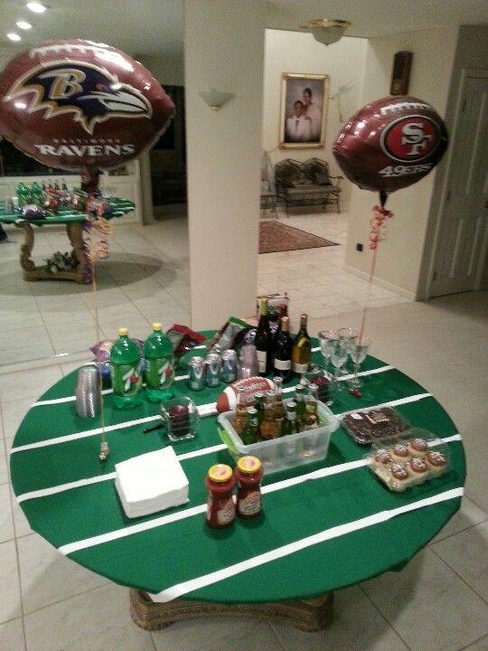 Football Field Table