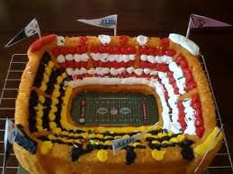 Superbowl party cake