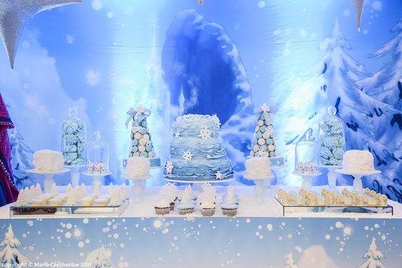 Blue & White Desserts