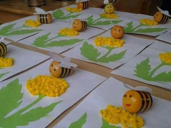 Kinder Surprise Egg Bees