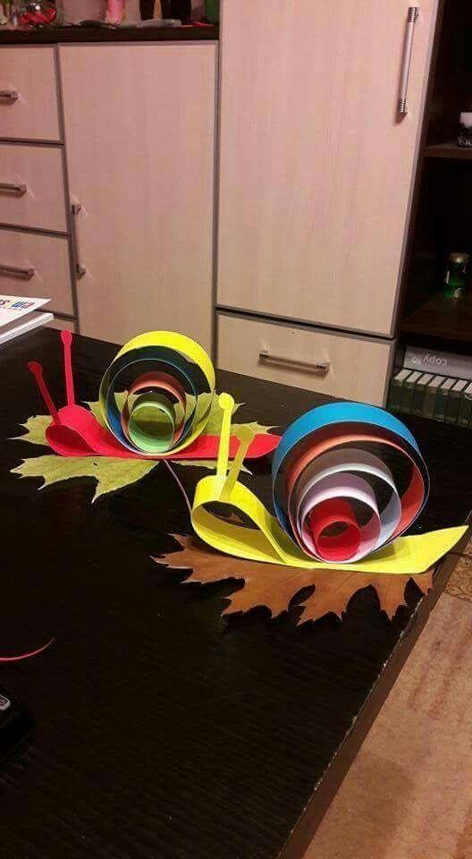 Paper Caterpillars