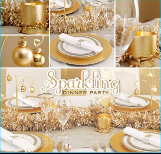 Sparkling Dinner Party