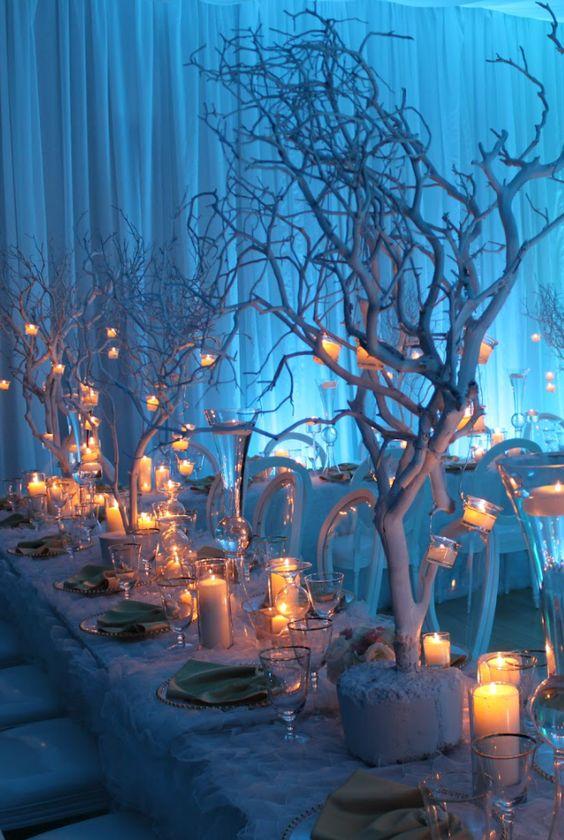 White Tree Centerpiece