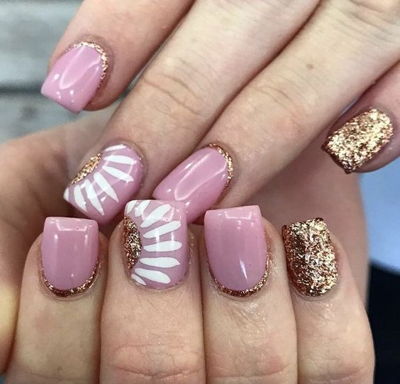 DIY Spring Nail Designs For Short Nails